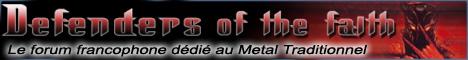 Forum francophone dédié au METAL TRADITIONNEL : Hard Rock, Heavy Metal, Speed/Thrash, etc.